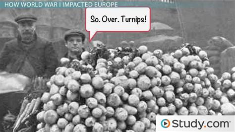 How World War I Affected Society in Europe & The U